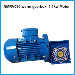 Nmrv Worm Gear Speed Reducer with Brake Motor pictures & photos