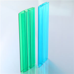 Polycarbonate U Profile or H Profile Assembly Accessories Aluminium Profile pictures & photos