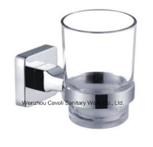 Zinc Chrome Bathroom Metal Wall Tumbler Glass Holder