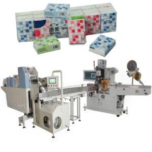 Embossing Folding Pocket Handkerchief Tissue Paper Machine pictures & photos