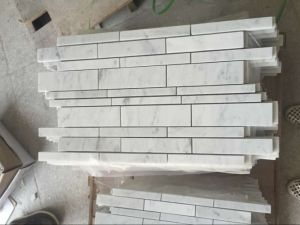 Linear Strip Mosaic, Marble Mosaic and Mosaic Tiles pictures & photos