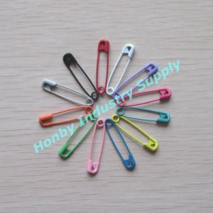 Decorative Multi Colors 28mm Metal Safety Pins