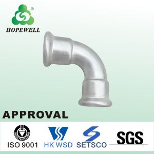 Top Quality Inox Sanitary Stainless Steel 304 316 90 Degree Short Elbow pictures & photos