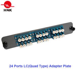 144 Cores 4u Rack Mount Fiber Optic Patch Panel pictures & photos