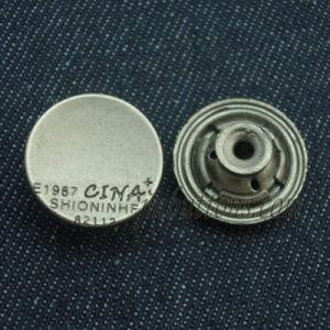 Plain Jeans Wear Metal Remove Button for Garment pictures & photos
