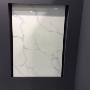 Crystallized Glass Panel Carla White Stone for Wall, Floor, Countertops