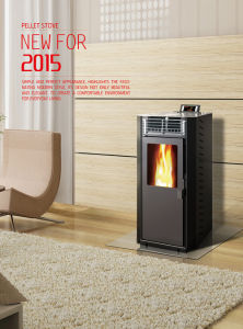 Cheap Pellet Stove Wood Pellet Burning Fireplace with En14785 pictures & photos