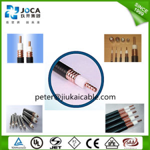 "China Household 1/2"" RF Telecom Coaxial Feeder Cable pictures & photos"