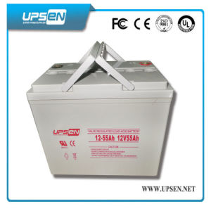 Solar Battery 12V Valve Regulated Lead Acid Battery with CE pictures & photos