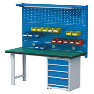Heavy Duty Warehouse Steel Panel Workbench pictures & photos