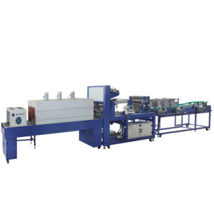 Linear Type Shrink Film Wrapping Machine (WD-350A) pictures & photos