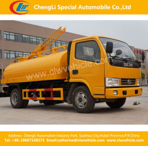 4X2 Dongfeng 3t Sewage/Fecal Suction Truck pictures & photos