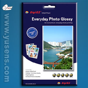 SGS Audited High Glossy Quality Inkjet Photo Paper From Factory pictures & photos