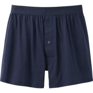 Customize Top Quality Plain Cotton Boxer Knitted Men Underwear pictures & photos