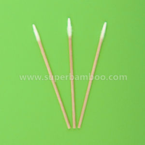3′ Wooden Stick Cotton Swab for Medical/Industry Use (WP22752)