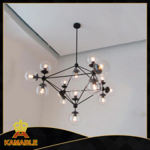 Contemporary Carbon Steel Glass Hanging Lights (KA1123S-15) pictures & photos