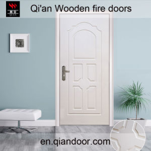 Interior European Style Wooden Fire White Door pictures & photos