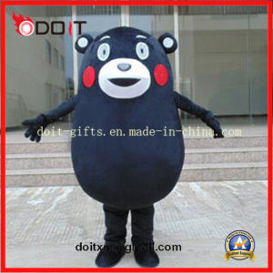 Customized Black Bear Mascot Costume for Company Promotion pictures & photos