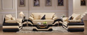 Italian Design Living Room Leather Sofa pictures & photos