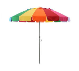 Solarteck Beach Umbrella with Various Style Available pictures & photos