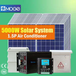 Moge A Grade 5000W Solar Panel System for Home pictures & photos