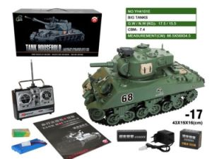 57501e17-German Panther IV Emulation R-C Shooting Battle Tank pictures & photos