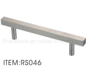 Solid Square Pipe Stainless Steel Handle (RS046) pictures & photos