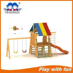2016 New Design Wood Playground Equipment (TXD07303) pictures & photos