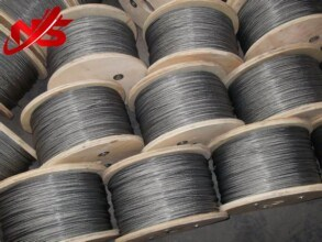 Small Cable Galvanized Steel Wire Rope 6X7+FC pictures & photos
