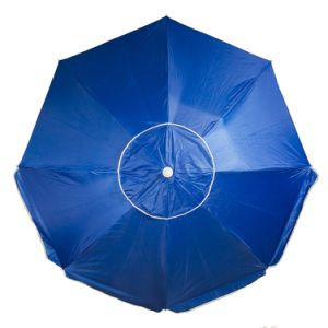 Outdoor Beach Wind Vent Umbrella 7FT Certified by TUV UV Protection Upf 50+ Built-in Anchor Pole and Air Vent for Stability (Dark Blue) pictures & photos