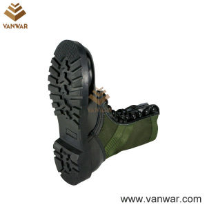 Shiny Leather Military Camouflage Jungle Boots for Soliders (WJB003) pictures & photos
