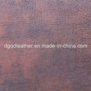Antimicrobial and Antibacterial Furniture Leather (QDL-50327) pictures & photos