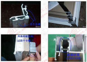 High Class Thermal Break Aluminium Window (BHA-CW50) pictures & photos