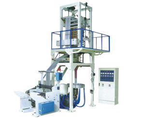 High Speed Single Color Plastic Film Blowing Machine