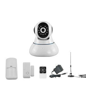 720p IP Camera WiFi Home Burglar Alarm System PIR Motion Detectors pictures & photos