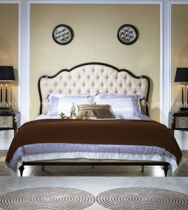 Classical Wooden Bedroom Furniture Bed (MS-A6001A-2) pictures & photos