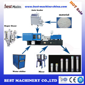 Servo Motor Energy Saving Injection Molding Machine for Medical Container pictures & photos