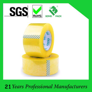 BOPP Yellowish Sealing Tape Packing Tape (KD-0367) pictures & photos