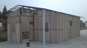 Long Life Time Light Steel Structure Cement Board Villa House pictures & photos