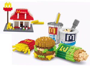 Children Toy DIY Block Fastfood Set Toy Block (H03120106) pictures & photos