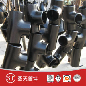 16mn Carbon Steel Pipe Fitting Tee pictures & photos