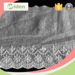Nigerian Lace Fashion Styles White Color Embroidery Lace pictures & photos