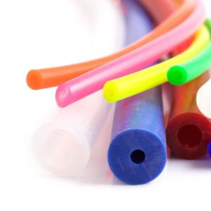 Food Grade Colorful Silicone Rubber Pipe pictures & photos