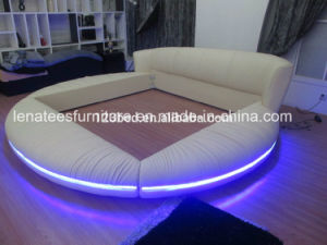 A601 New Bed Design with LED Light pictures & photos
