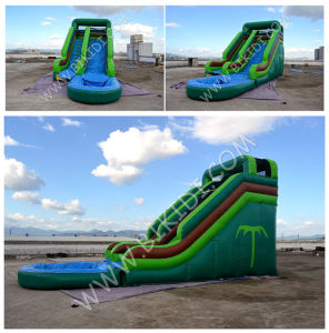 2015 Hot Inflatable Slide for Pool, Inflatable Water Slide, Children Inflatable Pool with Slide B4132 pictures & photos