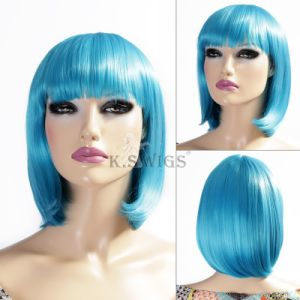 Party Wig 100% Japanese Kanekalon Bob Synthetic Wig pictures & photos