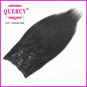 Cheap Clip in Hair Extensions, 100% Virgin Hair, Top Quality Clip Hair pictures & photos