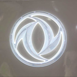 Custom Various Size LED Acrylic Frontlit Car Logo pictures & photos