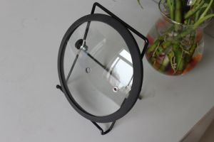 Tempered Glass Lid with Silicone Ring pictures & photos