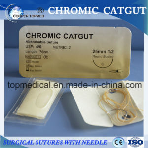 Absorbable Suture Chromic Catgut pictures & photos